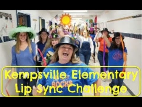 Kempsville Elementary School Lip Sync Challenge - The Greatest Showman