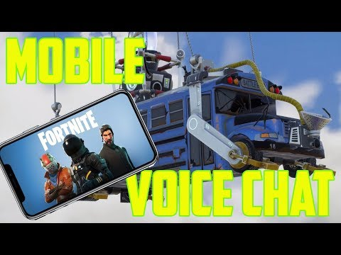 How To Voice Chat On Fortnite Mobile! TIPS You NEED To KNOW!