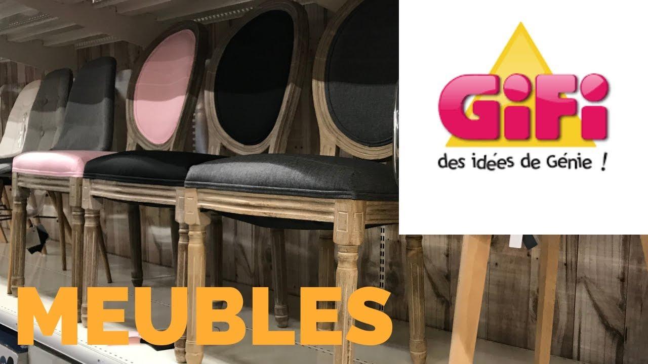 Nouveautes Gifi Meubles Mobilier Deco Maison Avril 2019 Youtube