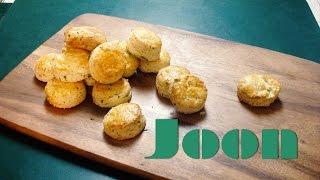 Cheddar Chive Scones Recipe  ItsJoon  ItsJoonCooking