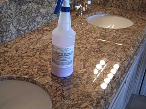 Granite Shield Kleen N Shine I Never Have To Wipe Up