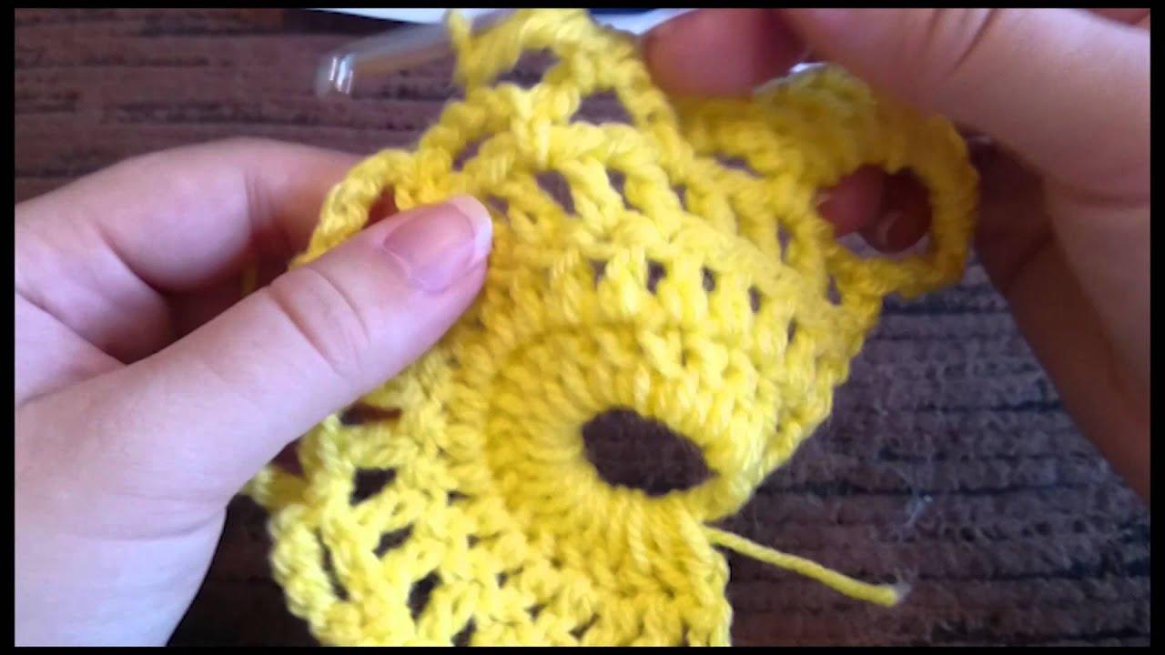 How To Virus Shawl Scarf Crochet Tutorial Youtube