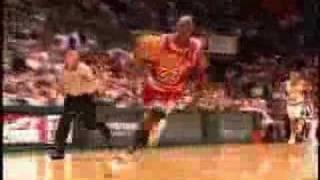 Michael Jordan tribute w/ Tupac