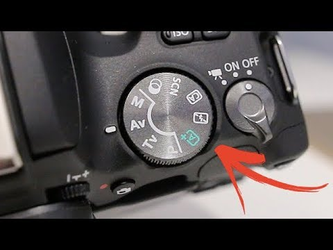 Canon SL2 (200D) Tutorial - Mode Dial Settings Guide