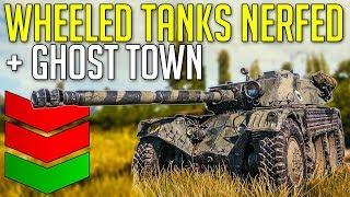 "Wheeled Tanks Already ""Nerfed"" + Ghost Town • Update 1.4 ► World of Tanks Panhard EBR 105 Gameplay"