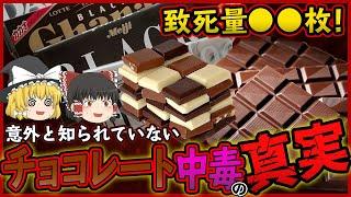 【ゆっくり解説】チョコレートの致死量は板チョコ◯枚だった!?チョコレートは健康に悪いのかについて