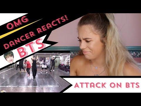 방탄소년단 '진격의 방탄 (Attack on BTS)' Dance Practice - DANCER REACTS!