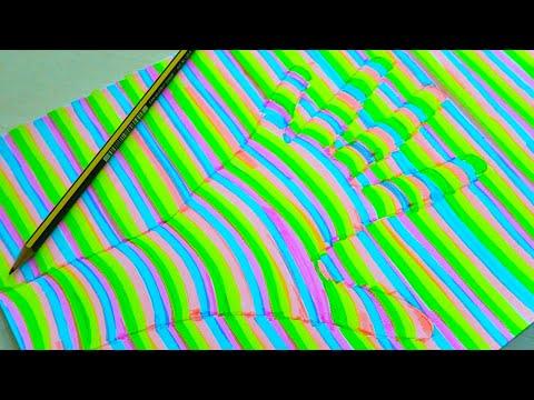 DISEGNARE UNA MANO 3D (Creazioni Incredibili) #1