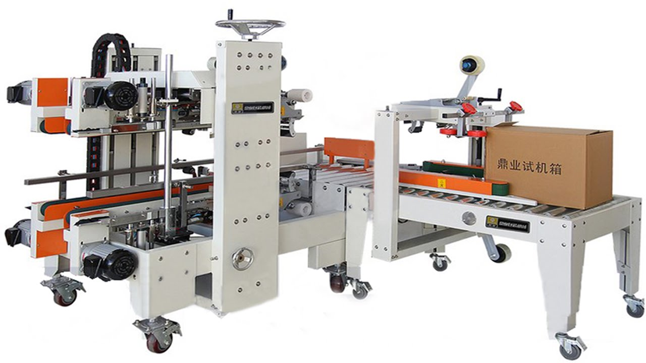 Carton Sealing Machine Automatic Side Corner Paper Cartons