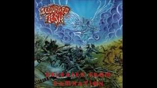 Scourged Flesh - Released From Damnation (Christian Thrash/Death Metal)
