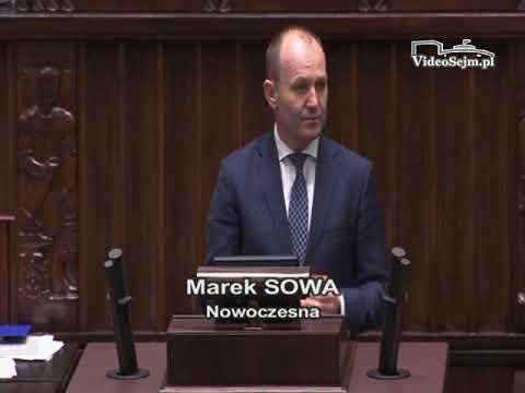 Marek Sowa – wystąpienie z 23 listopada 2017 r.