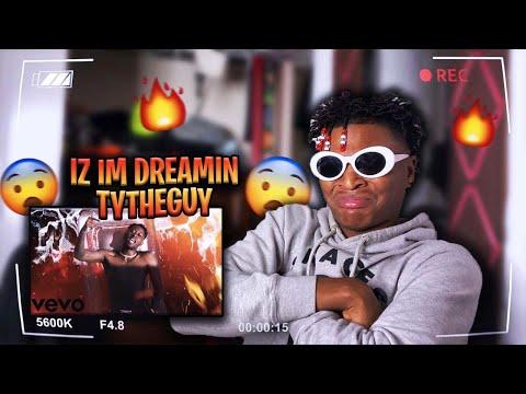 TY BEST RAPPER ON YT!?👀🔥 • TyTheGuy - IZ IM DREAMIN FREESTYLE (Official Music Video) REACTION