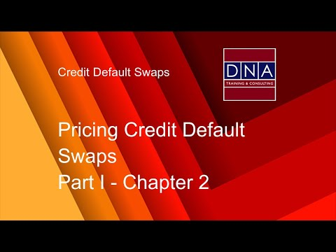 Pricing Credit Default Swaps - Chapter 2