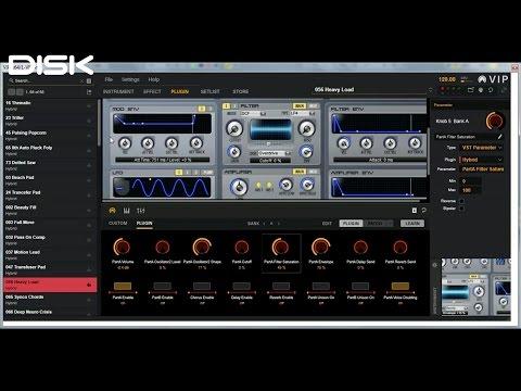 M-Audio CTRL49: Využití aplikace VIP (Virtual Instruments Player)