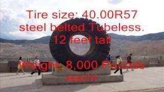 Huge Caterpillar diesel 793 Dump Trucks (video 2)