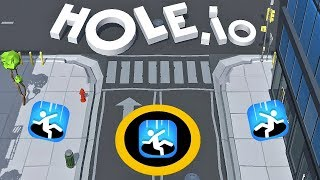 HOLE.IO | FIRST GAMEPLAY (VOODOO)
