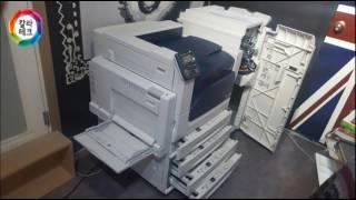 C5005d 피니셔C1 설치이야기 칼라테크 레이저프린터…