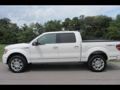 Sold 2012 Ford F 150 Crewcab Platinum 4x4 Ford Certified 5