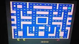 Ms Pacman 15,790 on Atari 2600