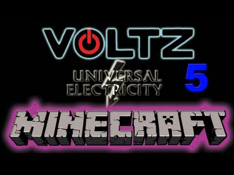 Minecraft Voltz Server Ep 5 Completed Power Facility (sort o