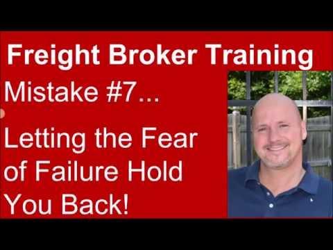 Freight Broker Training - Mistake #7 to Avoid!