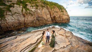 Elopement Wedding em Cabo Frio, RJ - Aline & Roger