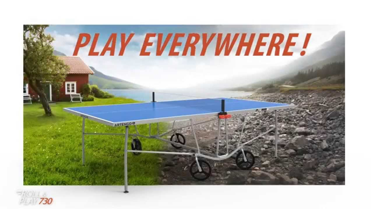 Table Tennis Chapter 1 Test The Limit Of The Ft730 Youtube