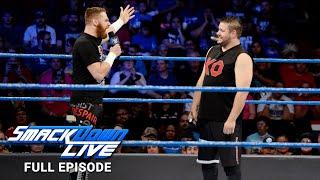 WWE SmackDown LIVE Full Episode, 26 September 2017