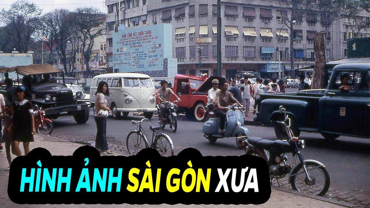 Những Hình Ảnh Hiếm Về Sài Gòn Xưa