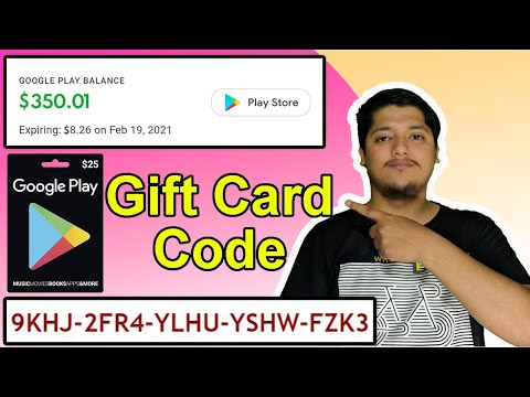 Earn Free Google Gift Card 🎁 In 2020 With 100% Proof | GPlayReward Google Gift Card Codes💲