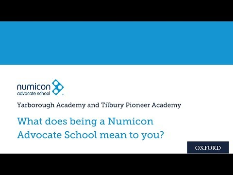 Numicon Advocate Schools: What does being a Numicon Advocate School mean to you?