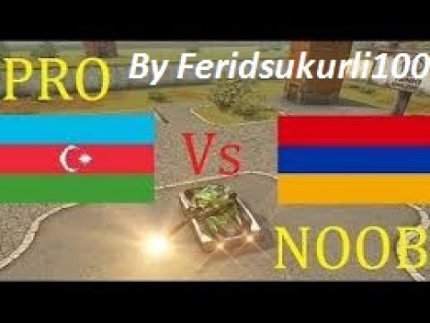 Tanki Online [Aze vs arm] Official video