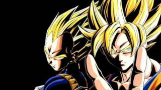 Dragon Ball Z soundtrack-Vegeta vs Goku