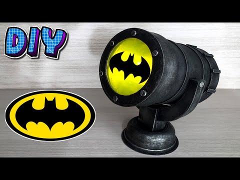 Diy Bat Sinal Luminaria
