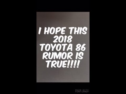 2018 toyota 86 special edition. simple edition i hope this 2018 toyota 86 rumor is true and toyota special edition