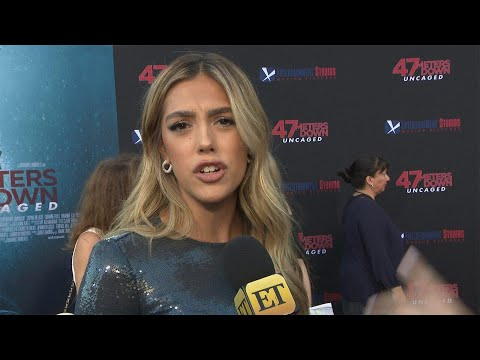 Sistine Stallone FaceTimed Dad Sylvester for Acting Tips While Filming '47 Meters Down: Uncaged'