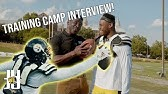 Training Camp Interview with Michael Irvin!Behind the Scenes