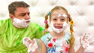 Настя и её ошибки в поведении - Правила поведения для детей