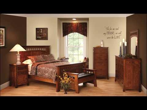 Miller Bedrooms - Amish Made Bedroom Furniture - Millersburg, Ohio