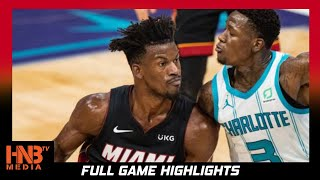 Miami Heat vs Charlotte Hornets 5.2.21| Full Highlights