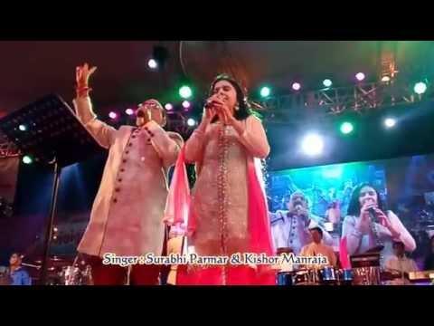 Jay Aadhya Shakti ( Live Aarti ) By Surabhi Parmar & Kishor Manraja ( Navratri 2015 )
