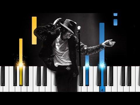 Michael Jackson - Bad - Piano Tutorial / Piano Cover
