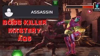 Marvel Contest of Champions - Mastery: Assassin | Alliance Quest Map 5