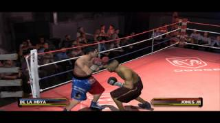 Fight Night Round 3 - Oscar De La Hoya Vs Roy Jones Jr Gameplay PC (Emulator)