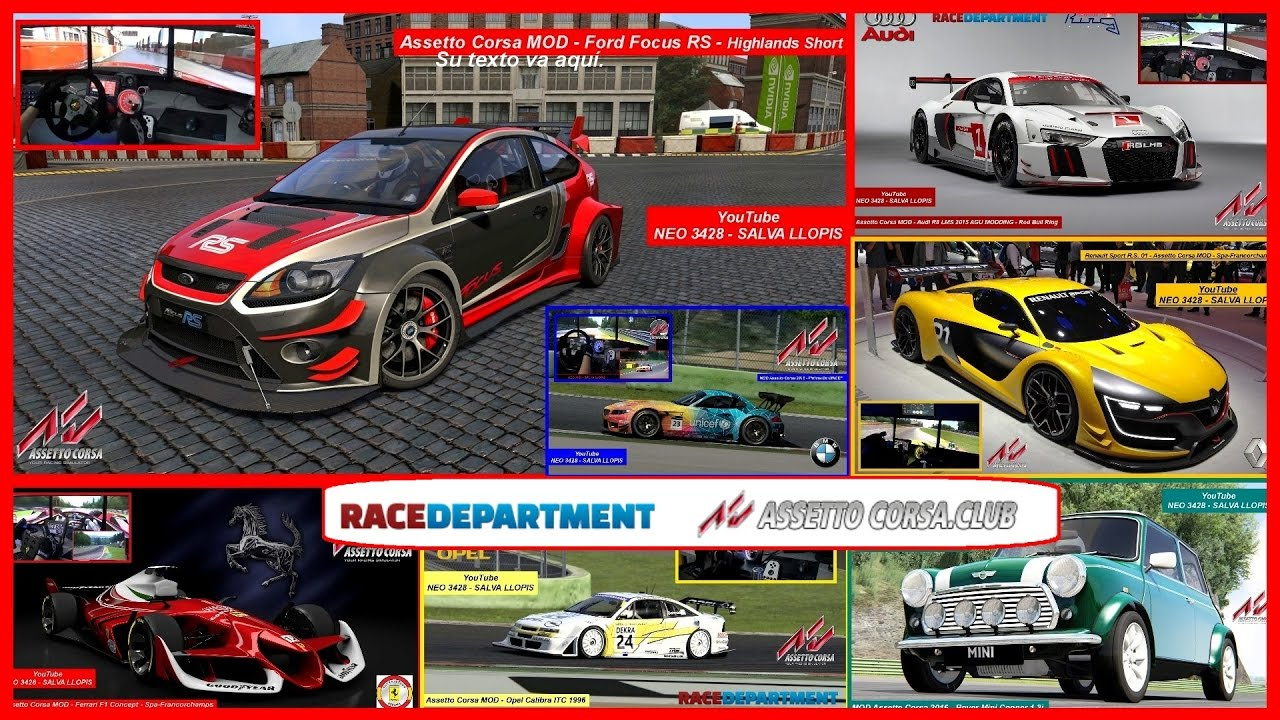 Compilation best mods assetto corsa part 2 neo 3428