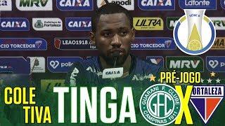 [Série B '18] Coletiva Tinga   Pré-jogo Guarani FC/SP X Fortaleza EC   TV ARTILHEIRO