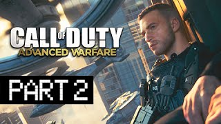Call of Duty: Advanced Warfare Walkthrough Part 2 - Fission (PS4 Gameplay Commentary)