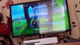 G7 Apple Plays Fortnite If wins gets what ever she wants (part one)