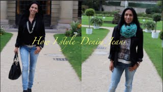 How I Style-Denim Jeans by Rosella Mia