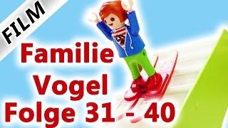 Playmobil Film Deutsch | Folge 31-40 | Kinderserie Familie Vogel | Compilation